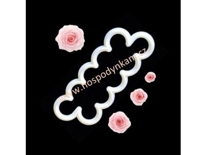 Vykrajovač na marcipán květ růže