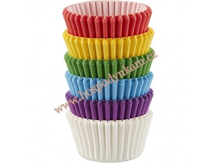 Wilton Košíčky Rainbow mini 150ks