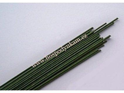 Aranžovací drátky zelené 24 gauge