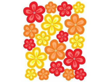 Jedlý papír Květiny