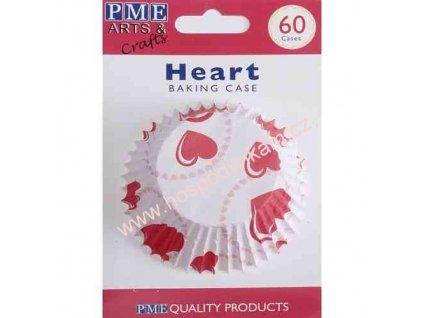 Cukrářské košíčky na pečení PME srdce