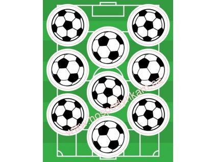 Jedlý papír Fotbalový míč