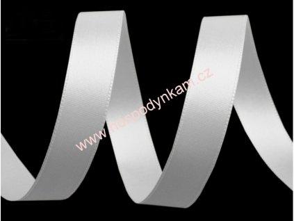 Stuha bílá šíře 15mm (20m v balení)