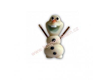 Marcipánová figurka Veselý sněhulák