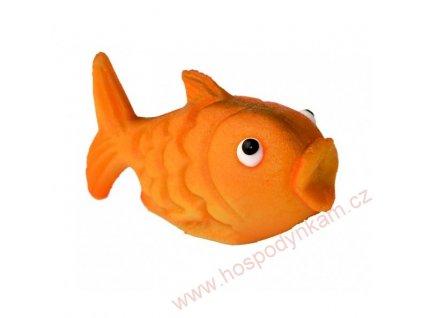Marcipánová figurka Zlatá rybka