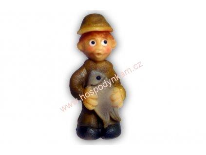 Marcipánová figurka Rybář