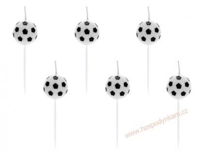 Dortové svíčky 2D fotbalový míč