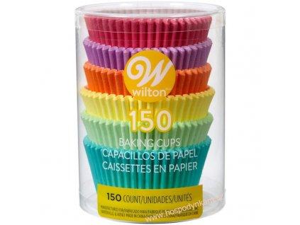Cukrářské košíčky Wilton Rainbow Pastel