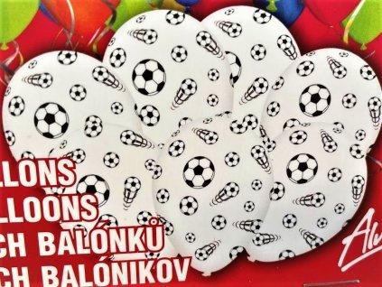 Balónky Fotbalový míč 7ks
