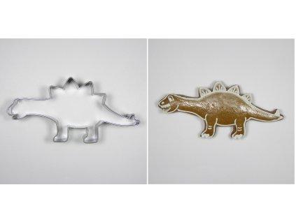 Nerezové vykrajovátko Stegosaurus