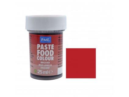 Gelová barva PME Brick Red