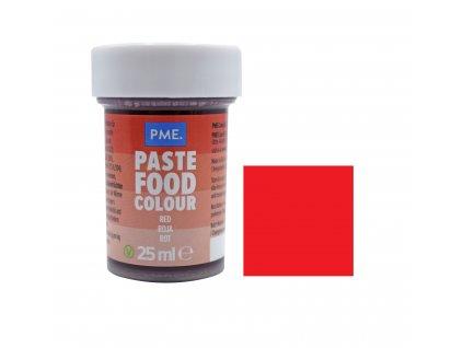 Gelová barva PME Berry Red