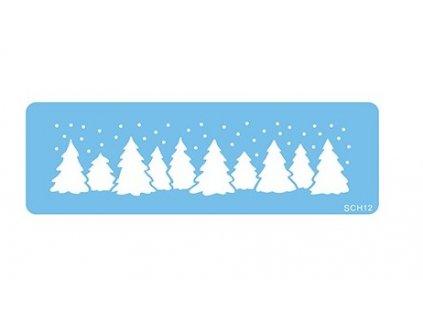 Stencil JEM, Vánoční stromky