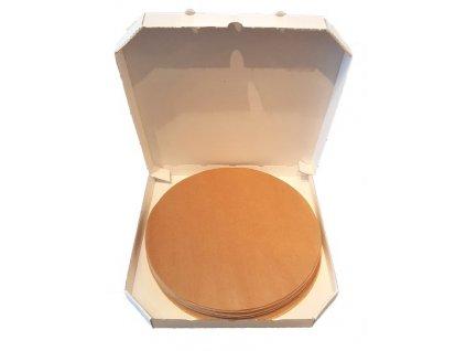 Pečící papír kruh 500ks průměr 30,6cm