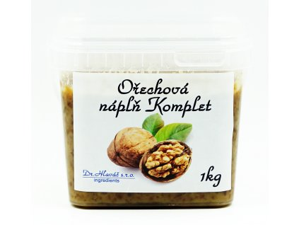 Bezlepková Ořechová náplň Komplet 1kg
