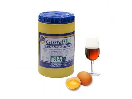 Gusto Piú vaječný likér 1,3kg (ochucovací pasta)