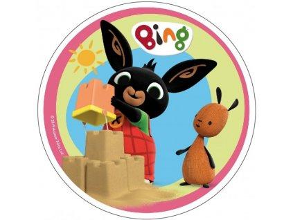 Jedlý papír Králíček Bing 2