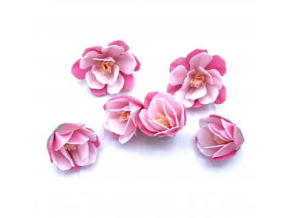 Jedlý papír 3D Magnólie (6 květů)