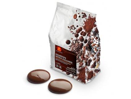 Balení Čokoláda bez cukru hořká 4kg