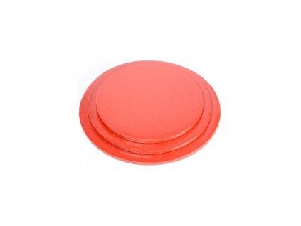 Modecor Červený tác kruh 40cm