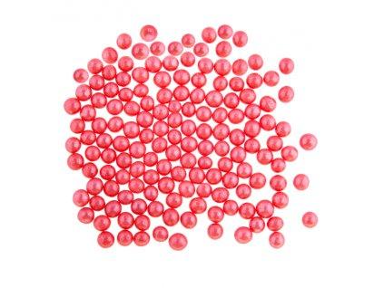 Křupinky perličky červené 50g