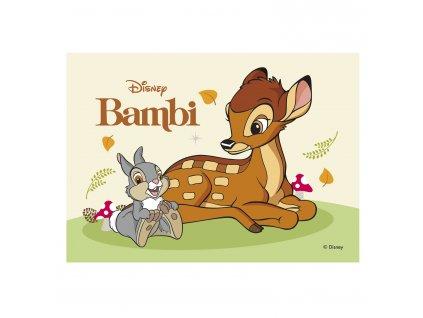 Jedlý papír Bambi 15x21cm