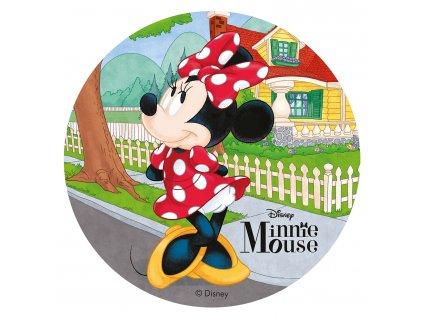 Jedlý papír deKora, Minnie Mouse stojící