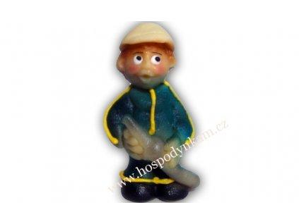 Marcipánová figurka Hasič