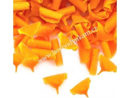 Čokoládové kudrny pomerančové 50g