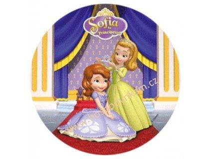 Jedlý papír Princezna Sofie 1