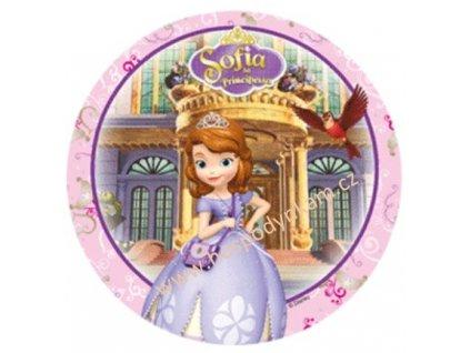 Jedlý papír Princezna Sofie 3
