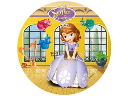 Jedlý papír Princezna Sofie 4