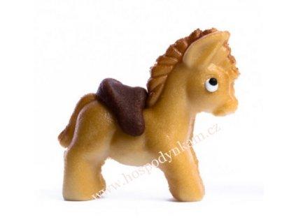 Marcipánová figurka Koník hnědý