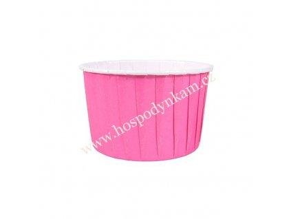 Košíčky na muffiny pevné Růžové