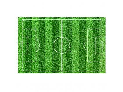 Fondánový obrázek fotbalové hřiště obdélník