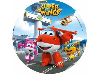 Jedlý papír Super Wings 3