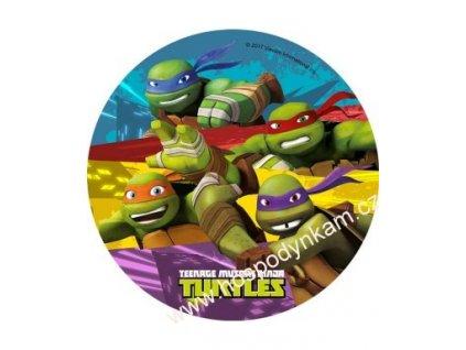 Jedlý papír Želvy Ninja 1