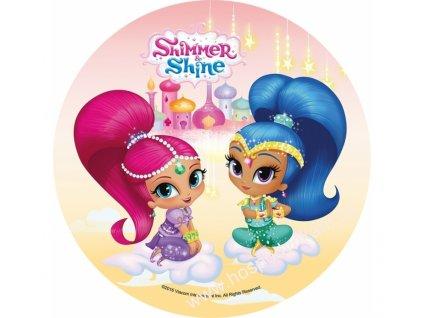 Jedlý papír Shimmer and Shine 4