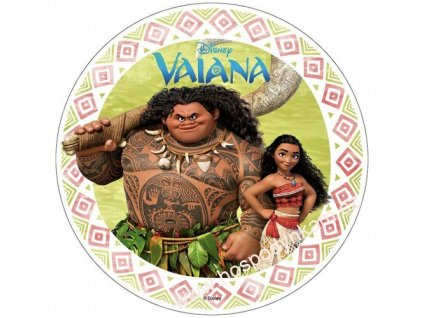 Jedlý papír Odvážná Vaiana 2