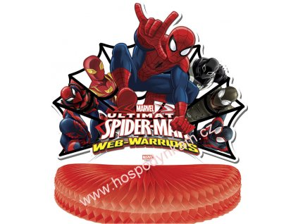 Papírová dekorace Spiderman
