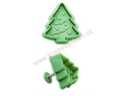 Pístový vypichovač vánoční stromek