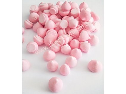Sněhové pusinky růžové 30g