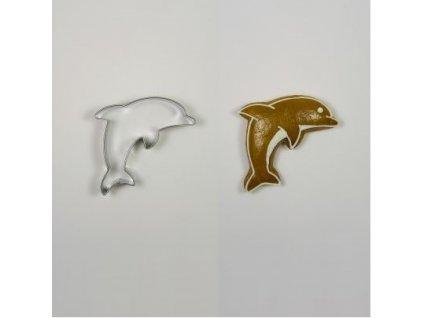 Nerezové vykrajovátko delfín