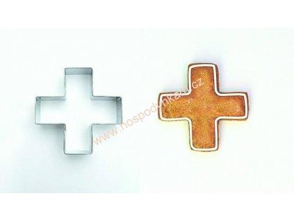 Nerezové vykrajovátko kříž