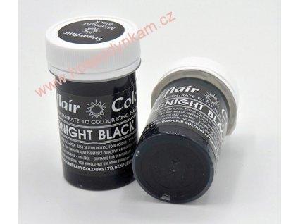 Gelová barva Sugarflair Midnight Black