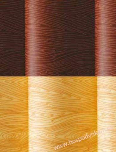Transfer folie na čokoládu - dřevo