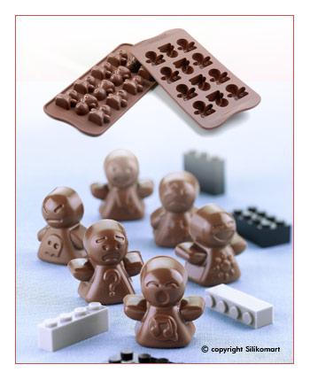 Silikomart Silikonová forma na čokoládu Mood