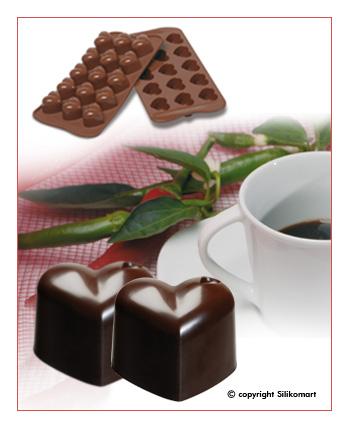 Silikomart Silikonová forma na čokoládu Monamour