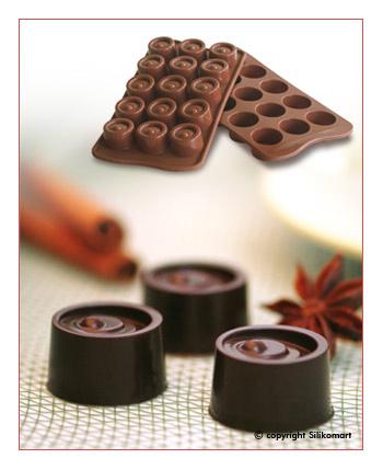 Silikomart Silikonová forma na čokoládu Vertigo