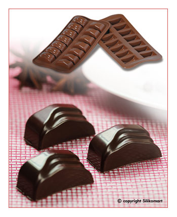 Silikomart Silikonová forma na čokoládu Jack